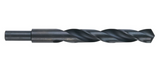 ground flute drill bit - high speed steel - black