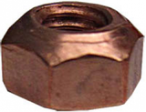 Copper Flashed Manifold Nuts 8mm | Pack of 50