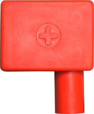 battery terminal cover flag left red