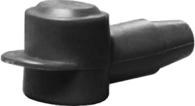 Black Battery Stud Cover (20-26mm)
