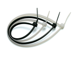 bulk cable ties in black and white