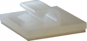 Cable Clip Nylon Adhesive 5mm