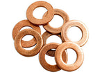 copper sealing washers