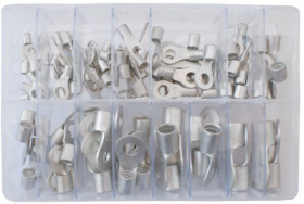 Assorted Open Ended Ring Terminals | 10-70mm² | Qty: 100