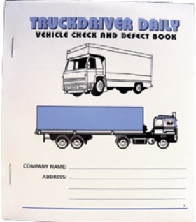 vehicle check defect book 20 pages grease monkey direct