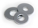 flat washers - light gauge, metric