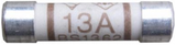 Domestic Fuses 13 Amp | Pack of 100