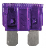 purple automotive blade fuses