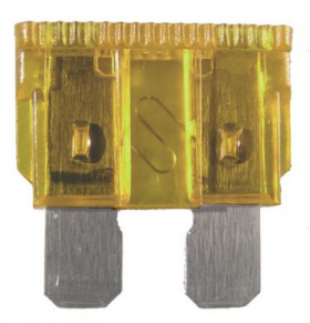 automotive blade fuses - light brown
