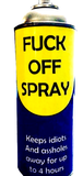 fuck off spray