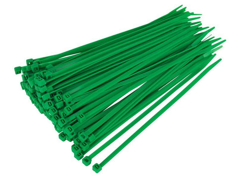 green cacble ties