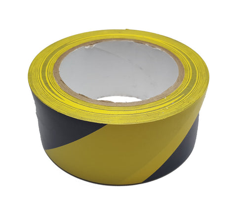 warning tape - black and yellow