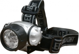 7-LED Head Torch (3 x AAA batteries inc)