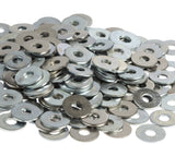 bag of imperial flat washers - light gauge