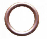 Copper Compression Washers | 22 x 7 x 2 | Qty: 10