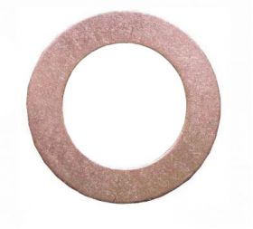 Copper Sealing Washer | 8 x 14 x 1mm | Qty: 100