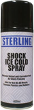 shock ice cold spray can