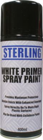 can of white primer spray paint