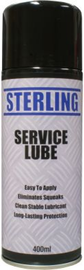 can of service lube spray