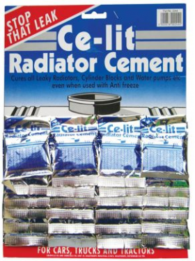 Card of Ce-Lit Radiator Cement (24)