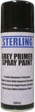 can of grey primer spray paint