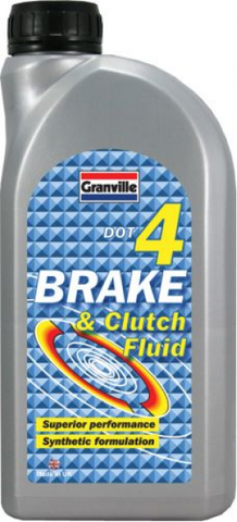 Brake & Clutch Fluid | Dot4 | 1 Litre