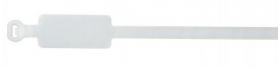 White Marker Cable Ties