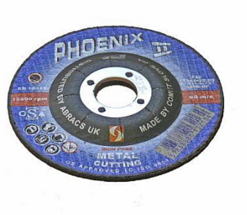 metal cutting disk