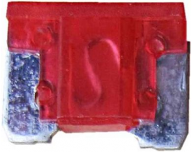 Micro Blade Fuses 10 Amp (Red) Pack of 25