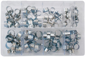 Assorted Stainless Mini Hose Clips (7-17mm)