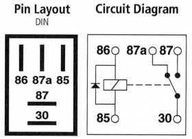 buy 5 pin micro relay online changeover 12v 20a diode. Black Bedroom Furniture Sets. Home Design Ideas
