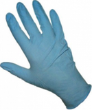 medium blue nitrile gloves