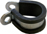 Rubber-Lined P-Clips 10mm (50)