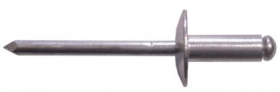 Rivets - Aluminium 4.8 x 12mm Large Flange | Qty: 250