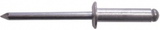 Rivets - Standard Aluminium 4.0 x 10mm | Qty: 500
