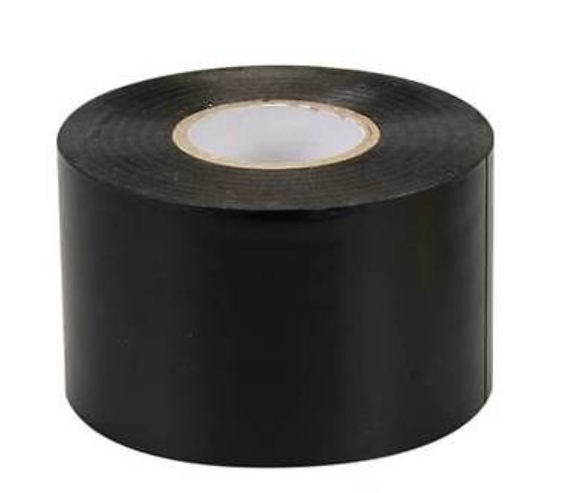full roll of 50mm black pvc tape