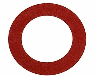 red sealing fibre washer