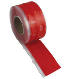 Silicone Compression Tape - Red | 3m Roll