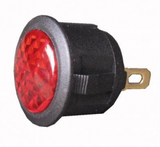 L.E.D Warning Light (12v) - Red