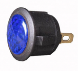 L.E.D Warning Light (12v) - Blue