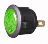 L.E.D Warning Light (12v) - Green
