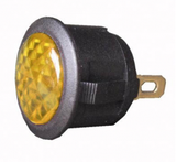 L.E.D Warning Light (12v) - Amber