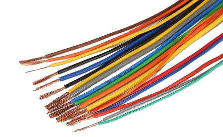 Different Colours Single Core Automotive Cable