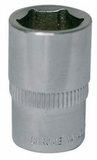 "12mm - 1/4"" Square Drive Socket"