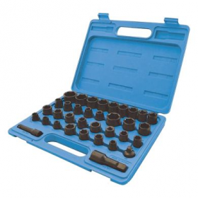 35 piece drive socket set