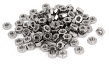 pack of steel nut fasteners