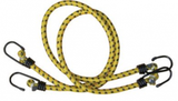 yellow luggage ties