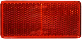 Red Reflectors - Pack of 5