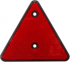 Red Reflector Triangle - Pack of 5