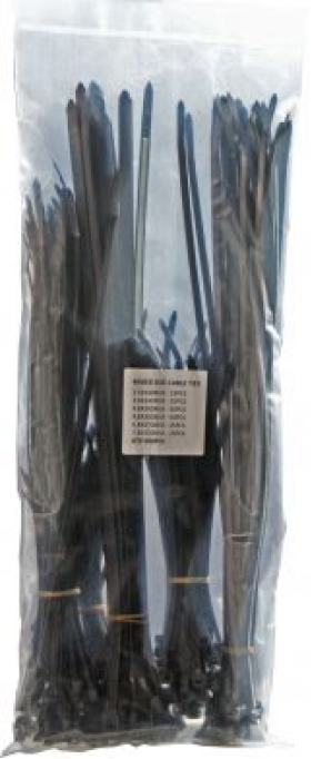 Black Cable Ties - Assorted Bag